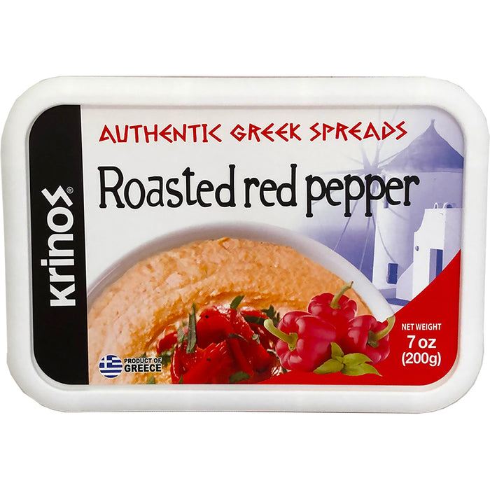 Krinos Roasted Red Pepper Spread