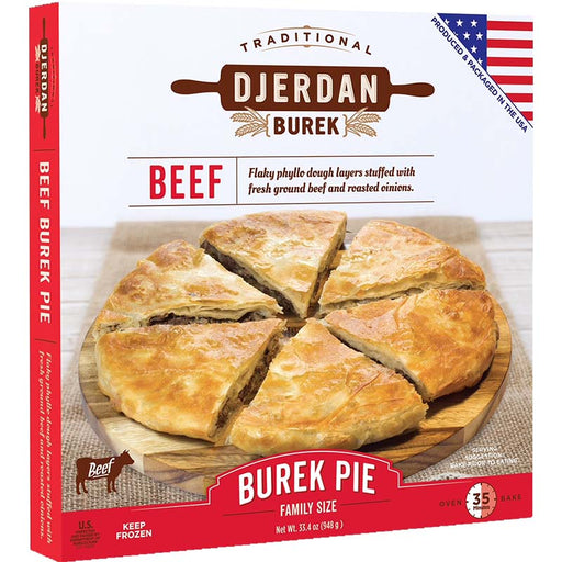 Djerdan Burek with Ground Beef