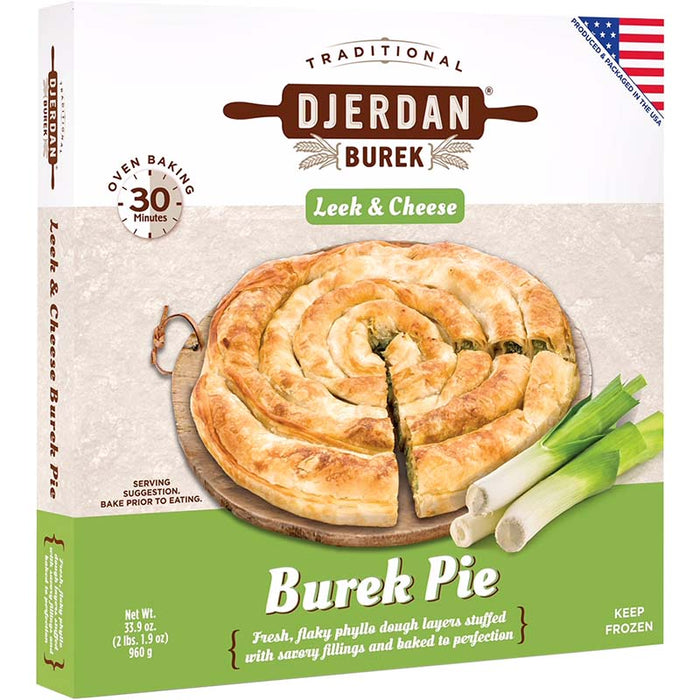 Djerdan Burek with Leek and Cheese