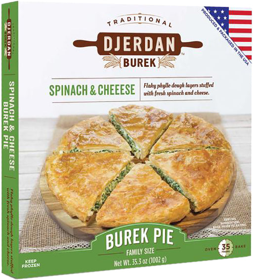 Djerdan Burek with Spinach