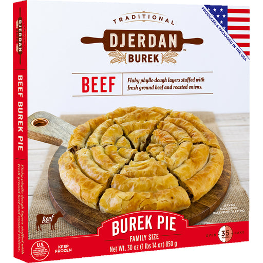 Djerdan Burek Swirls with Beef