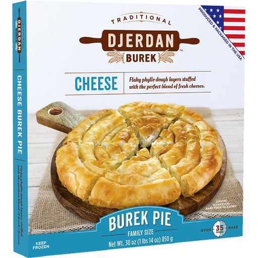 Djerdan Burek Swirls with Cheese