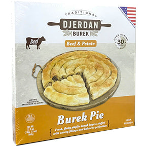 Djerdan Burek Swirls with Beef & Potato
