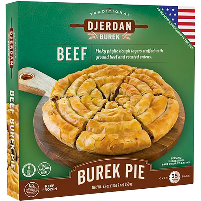 Djerdan Burek Swirls with Beef (Halal)