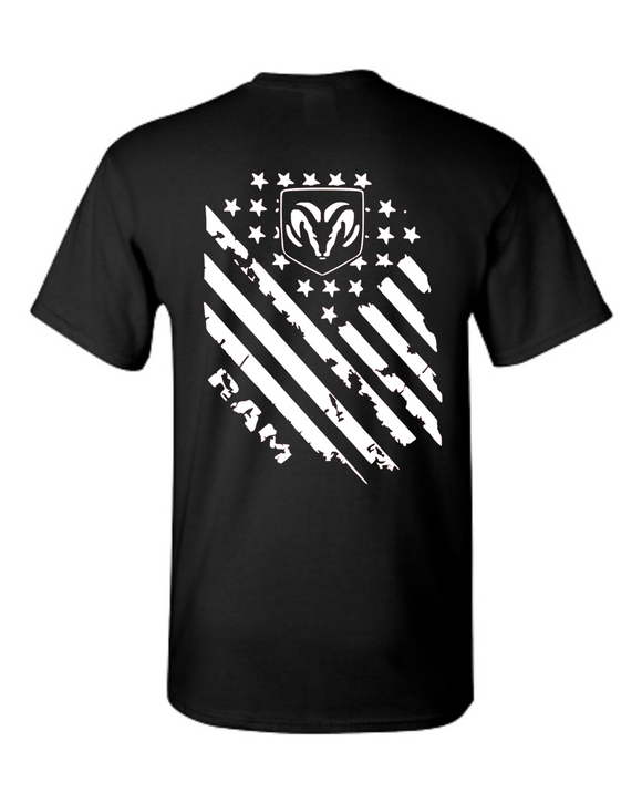 Ram Tattered Flag T-Shirt #1