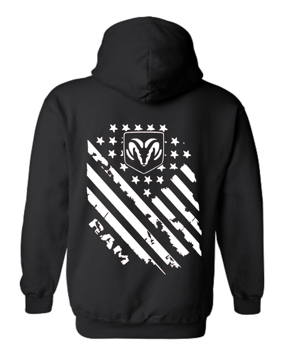 Ram Tattered Flag Sweatshirt #1
