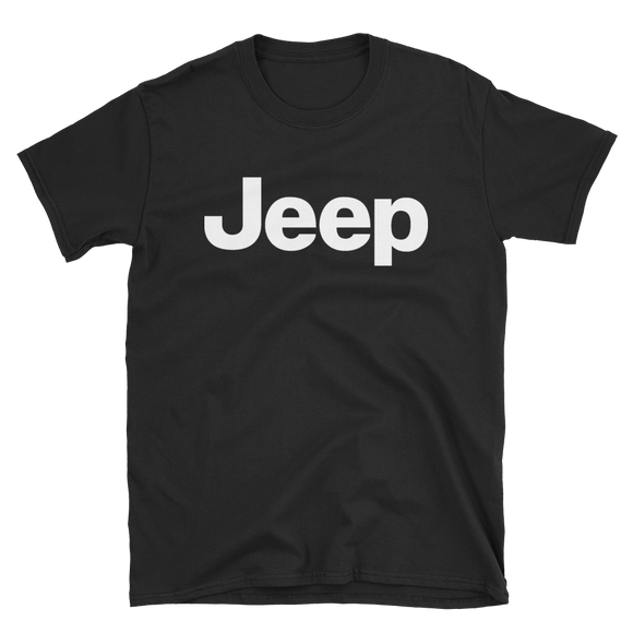 Jeep Logo White T-Shirt