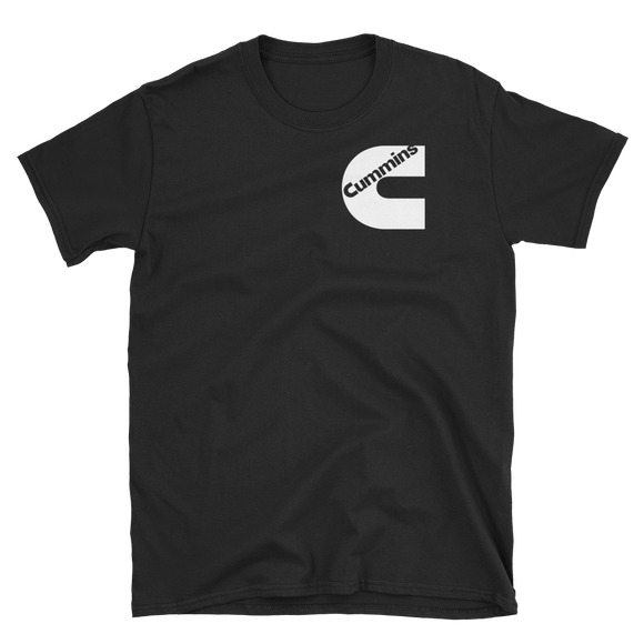 Cummins Logo White T-Shirt