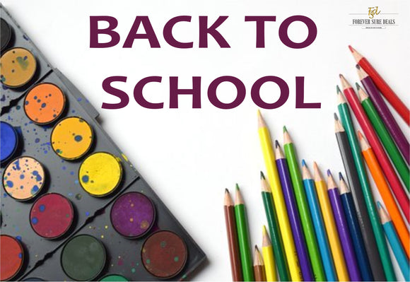 Forever Sure Deals Blog - Back to School