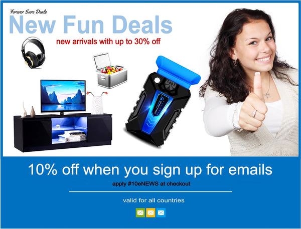 Forever Sure Deals - Store Ad Email Sign up