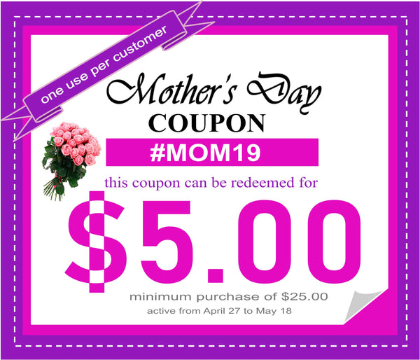 Forever Sure Deals - 2019 Mother's Day Coupon