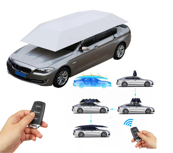 Forever Sure Deals - ALL SEASON REMOTE CONTROLLED AUTOMATIC CAR TENT COVER