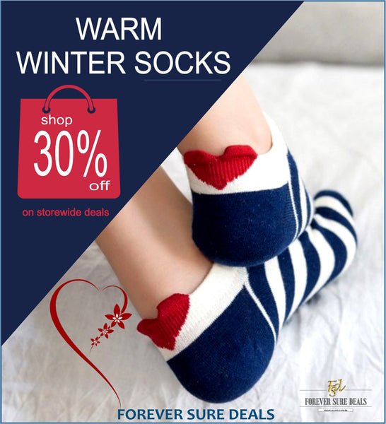 Forever Sure Deals - 30% off Socks Promo