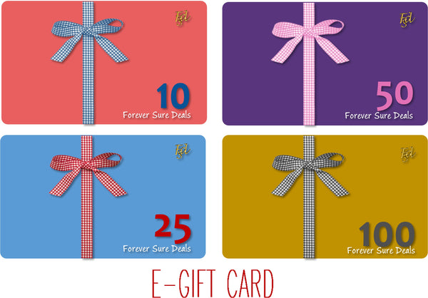 Forever Sure Deals - E-Gift Card Ad