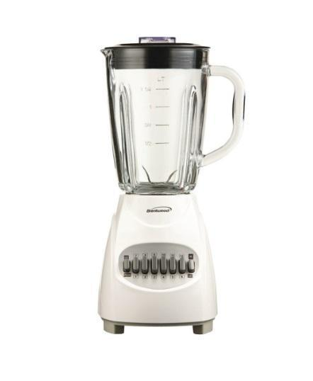 Electric Blender - 42-Ounce 12-Speed Pulse Electric Blender With Glass Jar (ships Within The US Only)