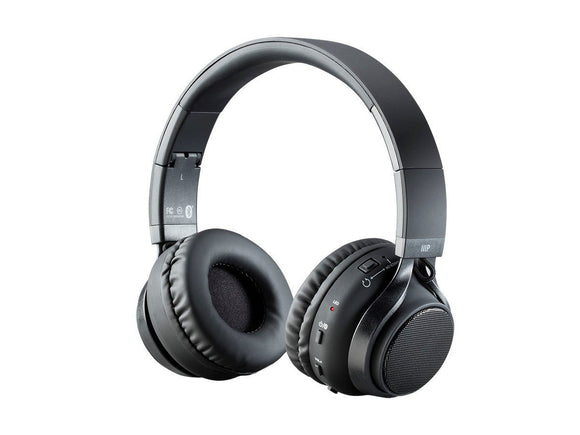 Bluetooth Wireless Headphones - Monoprice 2-in-1 Bluetooth Wireless Headphones With External Speakers (ships Within The US Only)