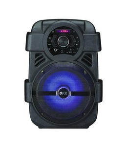 Rechargeable Bluetooth Speaker - QFX 8 Inches Rechargeable Bluetooth Party Speaker (ships Within The US Only)