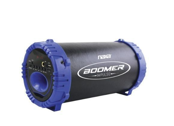 Bluetooth Speaker - BOOMER IMPULSE LED Bluetooth Boom Box (ships Within The US Only)
