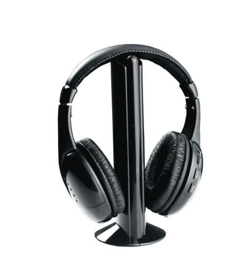 Wireless Headphones - NAXA Professional 5-in-1 Wireless Headphones With Microphone And FM Radio (ships Within The US Only)