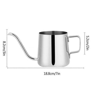 Kettle - 350ml Stainless Steel Coffee Or Tea Kettle
