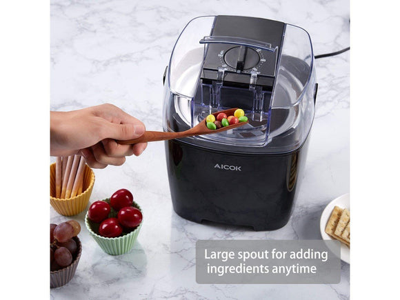 Ice Cream Maker - Aicok 1.5-Liter Ice Cream Maker, Frozen Yogurt And Sorbet Machine (ships Within The US Only)