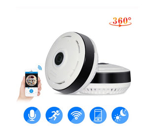HISEEU 960P 3D VR WiFi FishEye IP Mini Home Security Camera