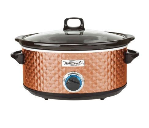Slow Cooker - Copper Seven-Quart Slow Cooker (ships Within The US Only)