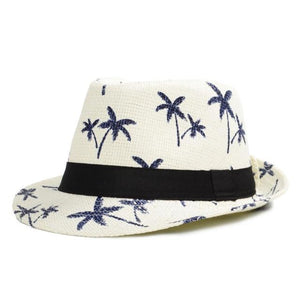 Trilby Hat - Classic Trilby Summer Straw Hat For Men