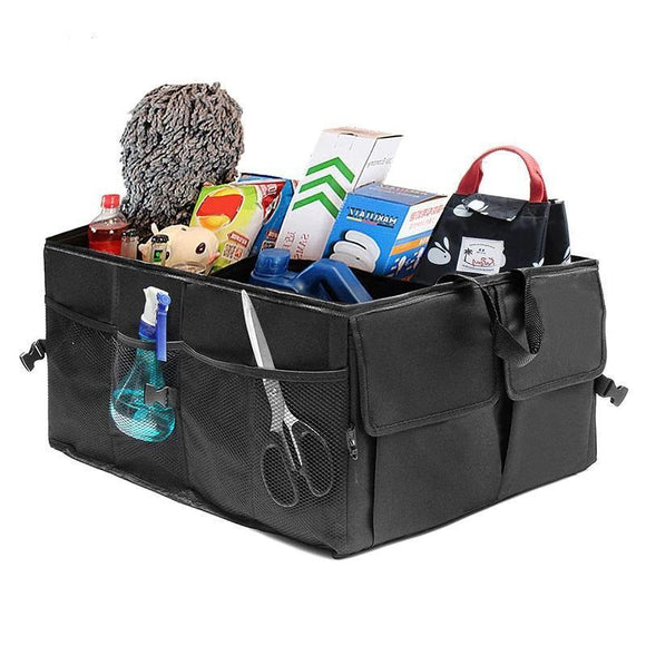 Trunk Organizer - Eco-Friendly Super Strong, Durable And Collapsible Car Trunk Organizer