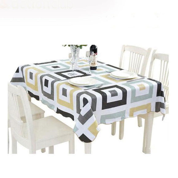 Banquet Table Cloth - High Quality PVC Stain Proof Banquet Table Cloth