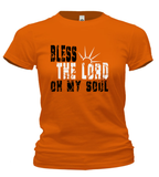 T-Shirts - Bless The Lord Oh My Soul Cotton T Shirt (ships Within The US Only)
