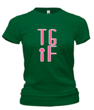 T-Shirts - TGIF-Thank God It's Friday Cotton T Shirt (ships Within The US Only)