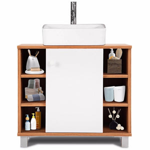 Bathroom Furniture - Six (6) Cube Modern Under-sink Cabinet Bathroom Spacesaver