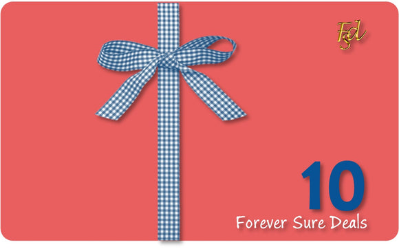 e-Gift Card - Forever Sure Deals