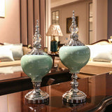 Decorative Centerpieces - High-end Ceramic Tabletop Decorative Centerpiece