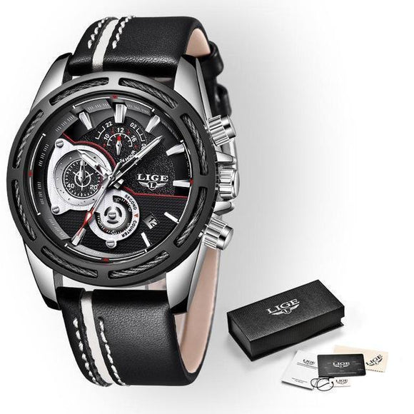 Wristwatch - Military Style Waterproof Sports Wristwatch