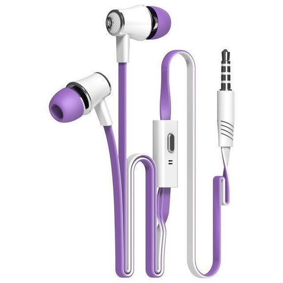 Earphones - Colorful Bass HiFi Earphones
