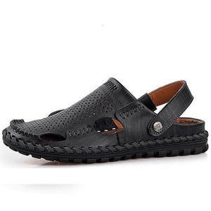 Men's Sandals - Comfortable Genuine Leather Handmade Sandals