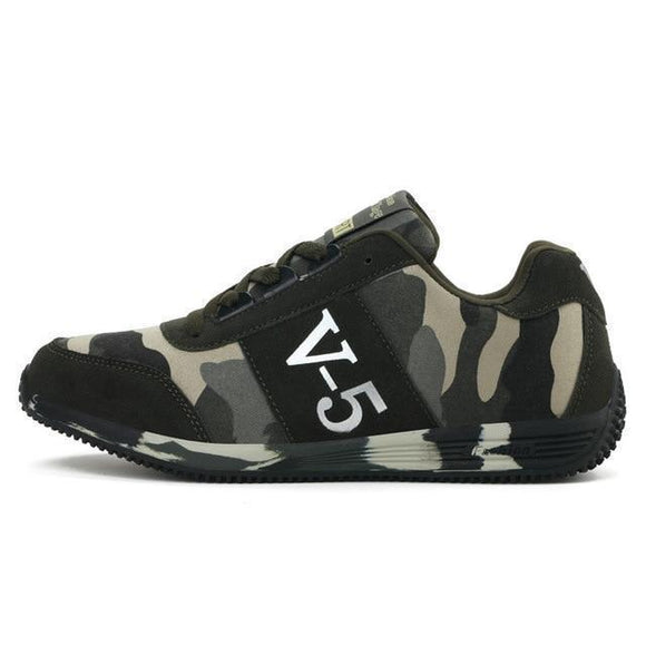 Sneakers - Teen Camouflage Canvas Shoes