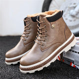 Men's Boots - Military Style Anti-skid Men's Footwear