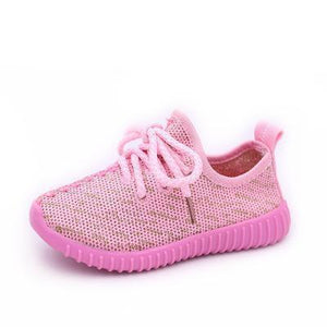 Toddler Shoes - Comfortable Mesh Upper Sole Sneakers For School Children