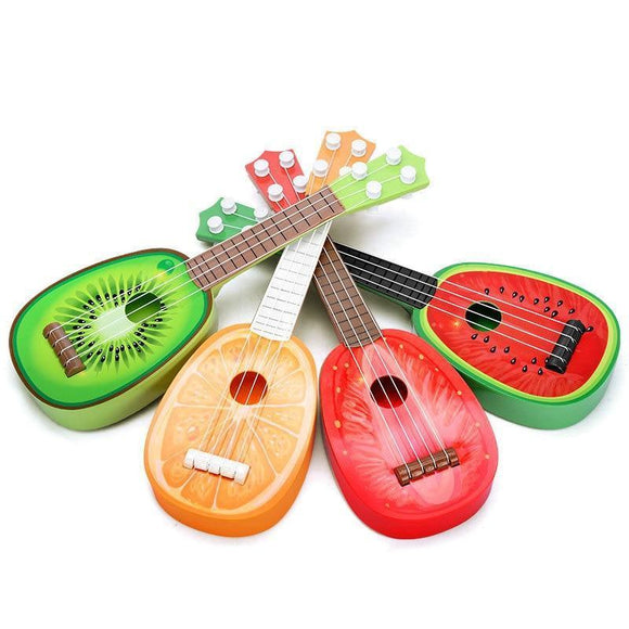 Musical Toys - Mini Ukulele Fruit Play Musical Instruments Toys