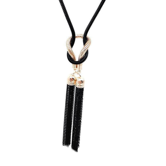 Necklace - Fancy Fashion Tassel Bijoux