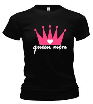 Queen Mom Cotton T-Shirt (ships within the US only)