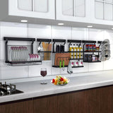 Kitchen Organizer - Stainless Steel Kitchen Rack Organizer
