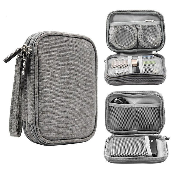 Organizer Bag - Travel Electronic Accessories And Cable Organizer Bag