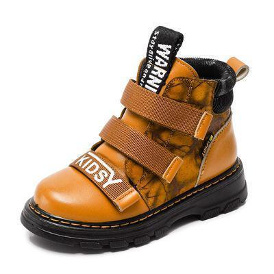 Toddlers Boots - Genuine Leather Martin Boots For Boys