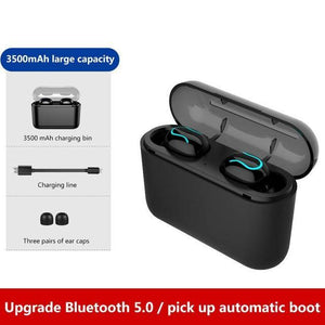 Bluetooth Earphones - Wireless Bluetooth 5.0 Stereo Music Earphones Headset
