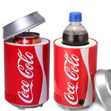 Car Cooler - Mini Cold Storage Refrigerator DC 5V For Car