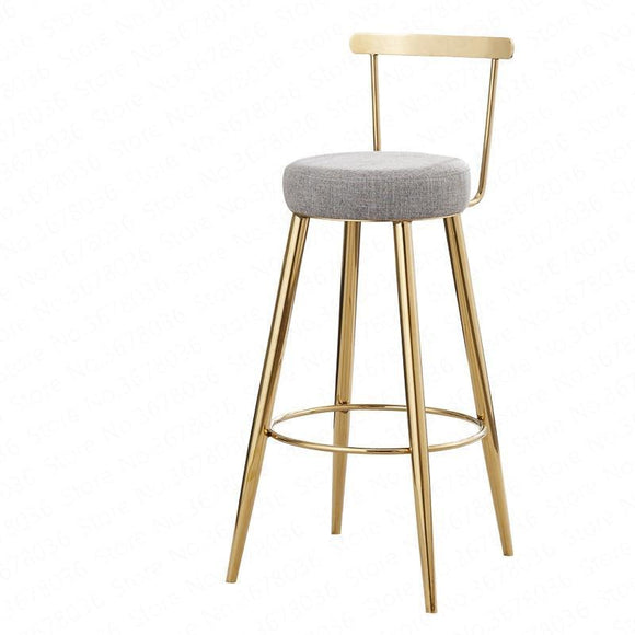 Bar Stool - Casual Nordic Bar Stools For Home Use